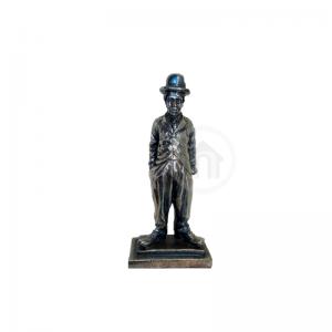 charles chaplin, artes, estatua, comemoraçao tematizada, estatueta, brindes, presentes, personalizacao, uberlandia personalizados, escritorio, casa, decoração, decoração interna, ambiente de trabalho,